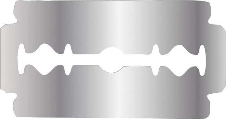 Razor blade PNG image free Download