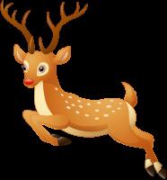 Олени Санта-Клауса PNG