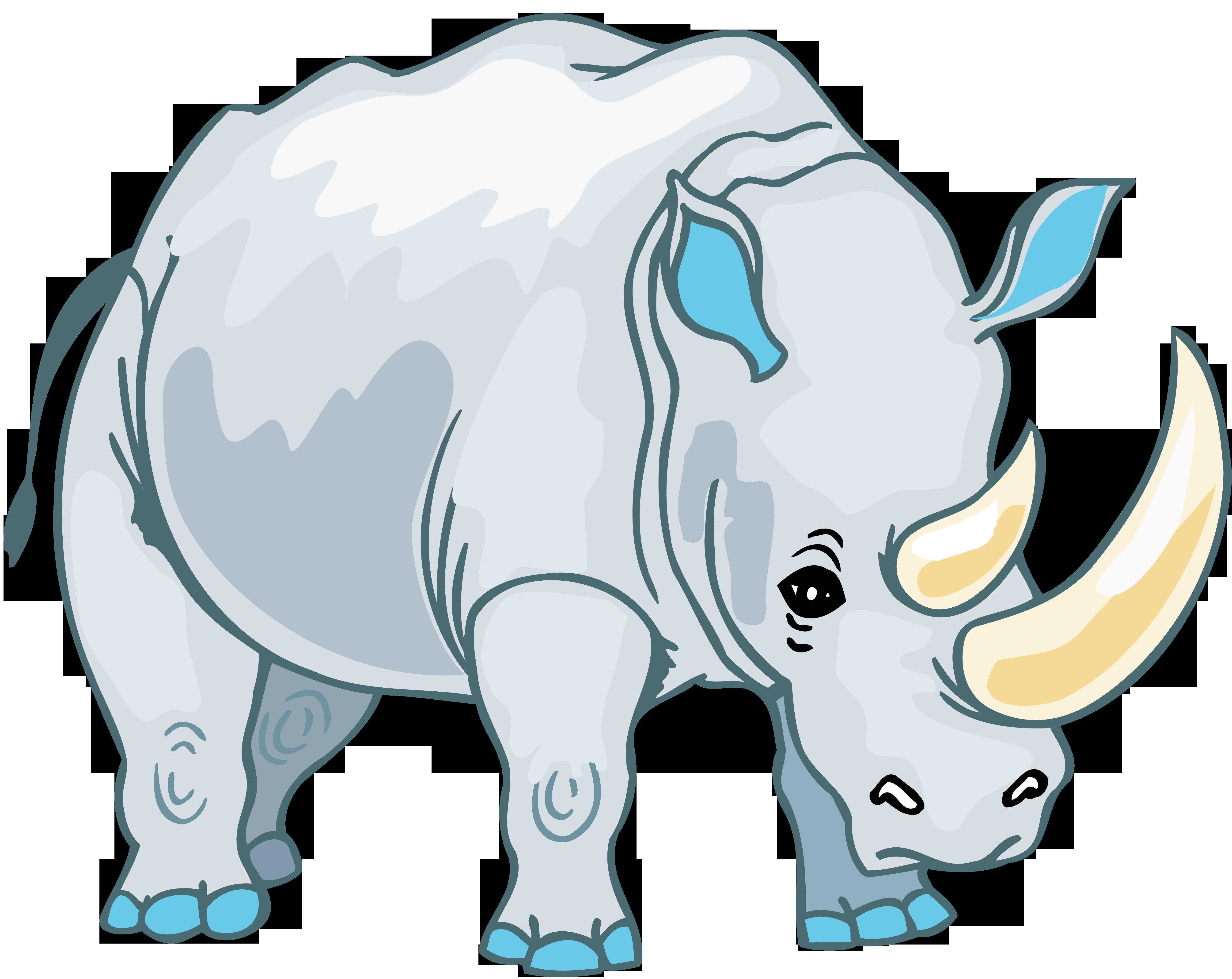 Носорог PNG