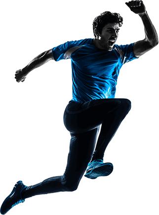 Running man PNG image