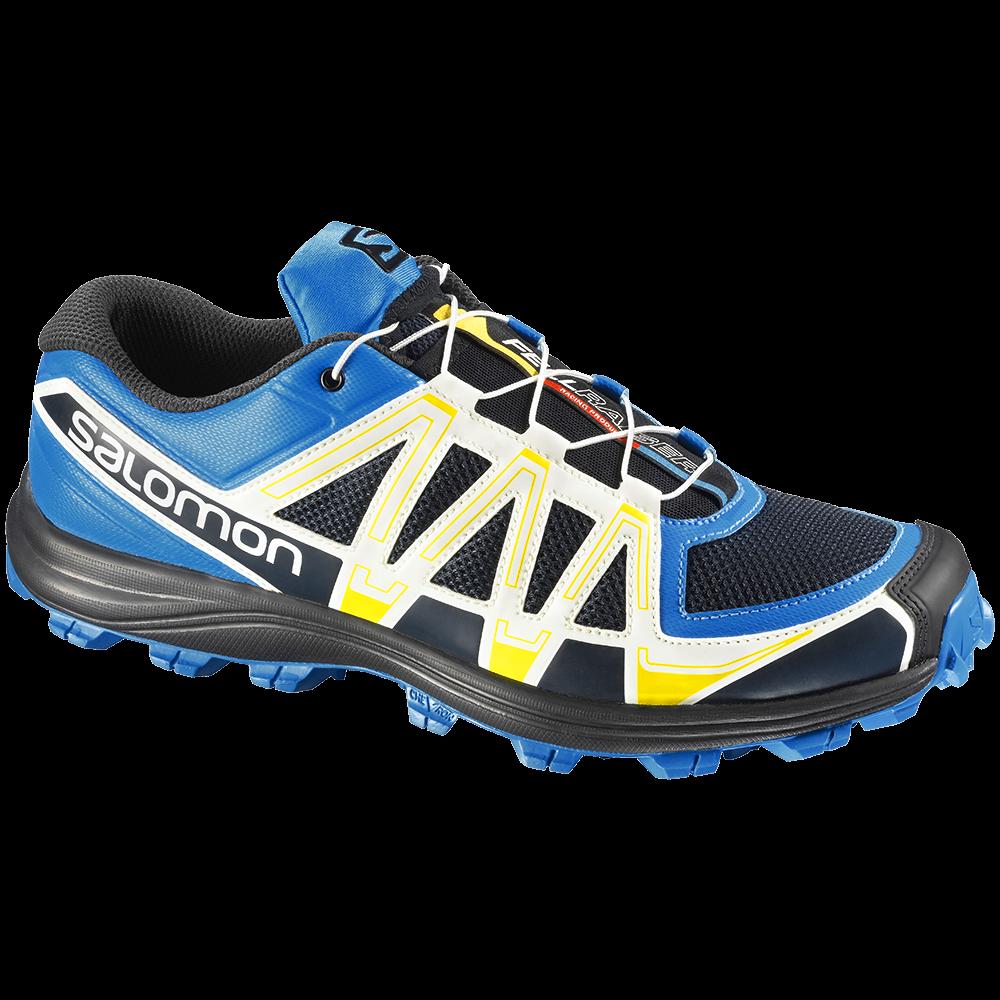 Salomon running shoes PNG image