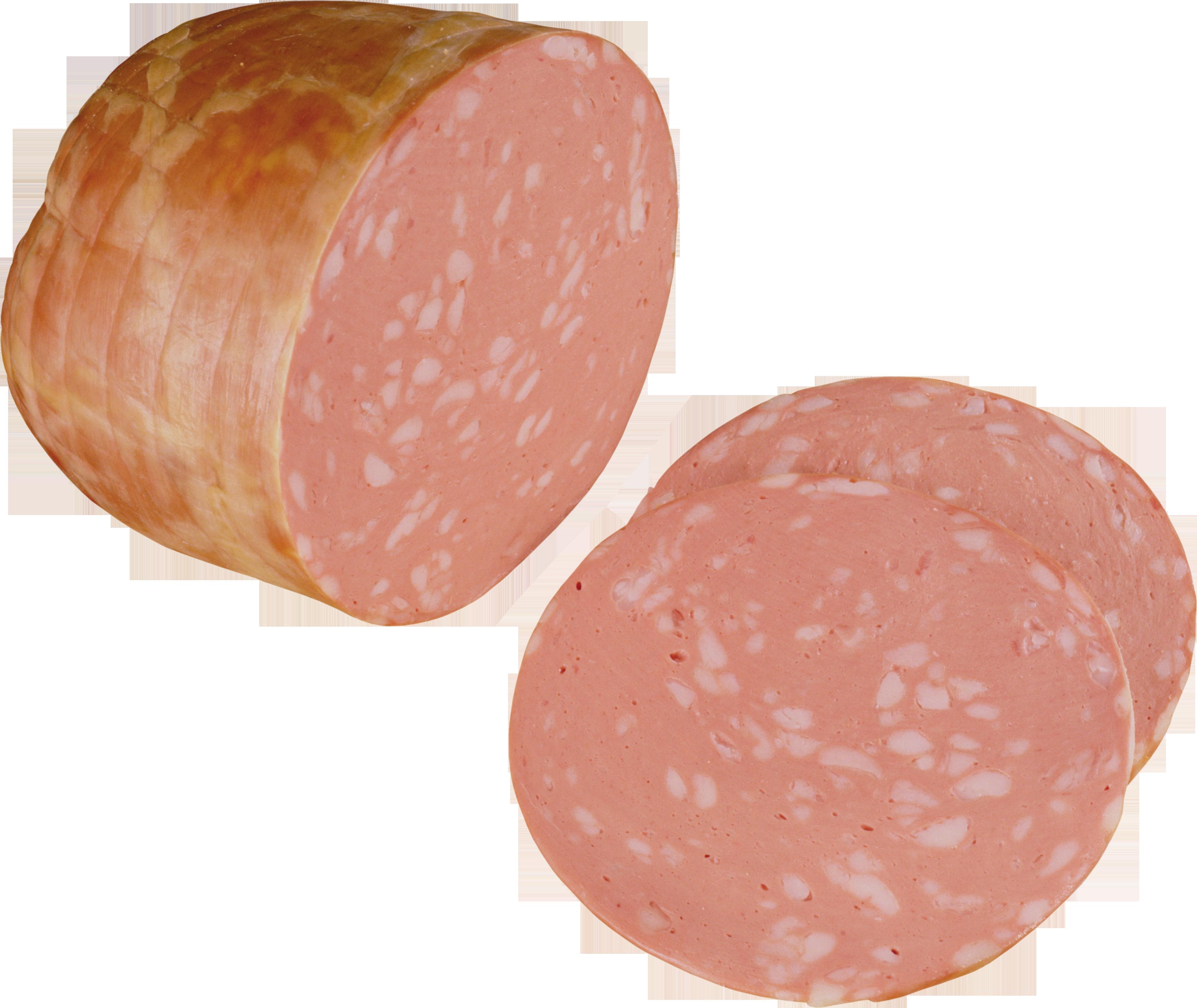 Колбаса ветчина PNG фото
