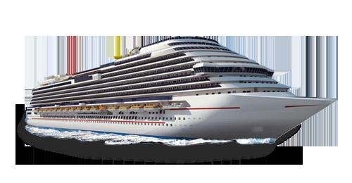 Корабль лайнер PNG изображение