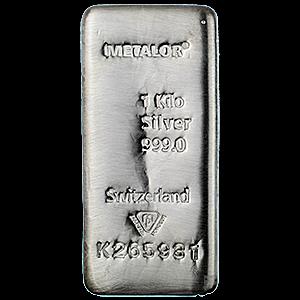 Серебро слиток PNG