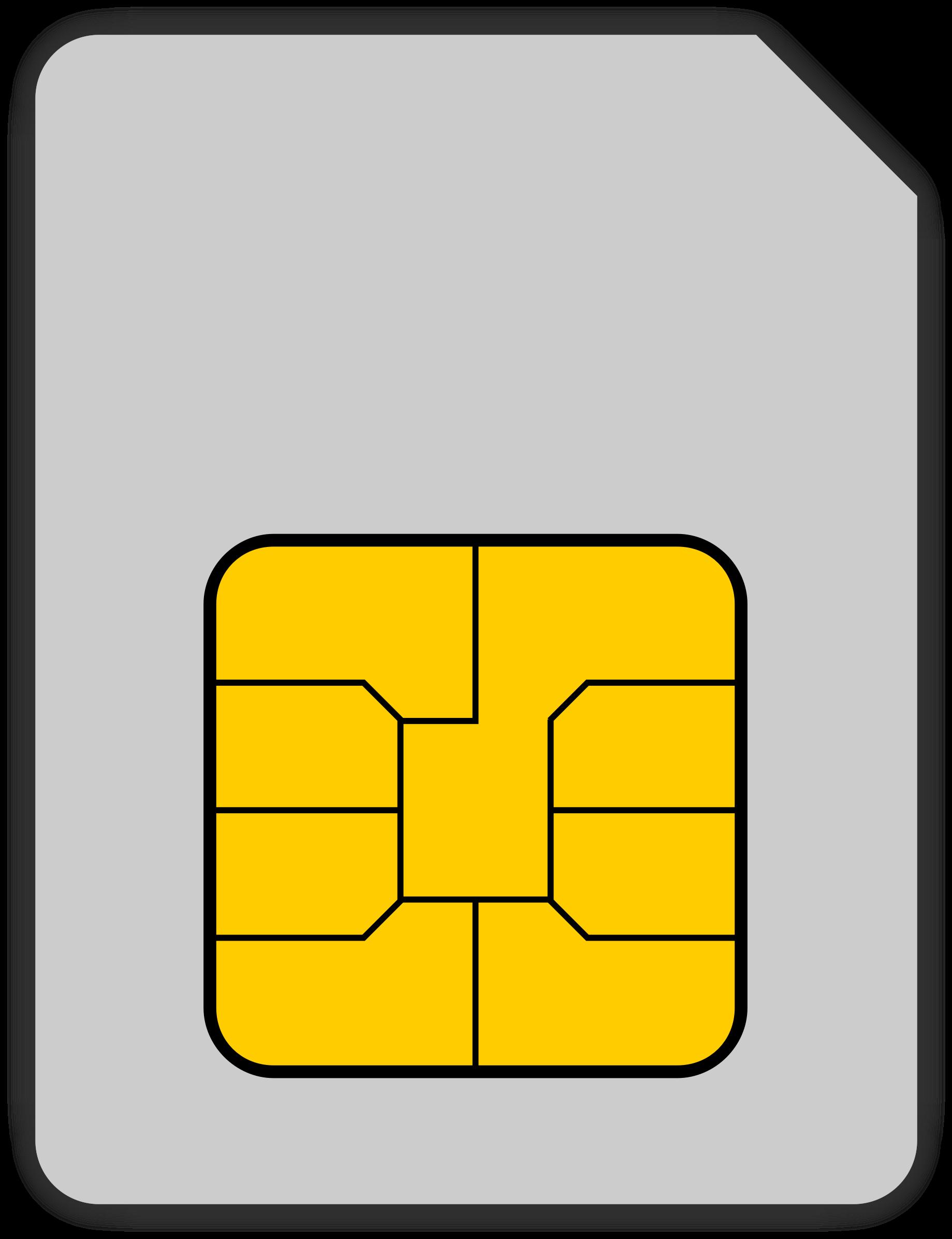 Сим карта PNG