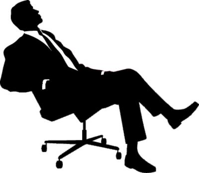 Сидящий человек PNG фото