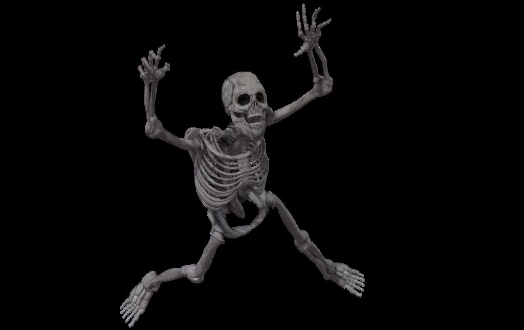 Скелет PNG