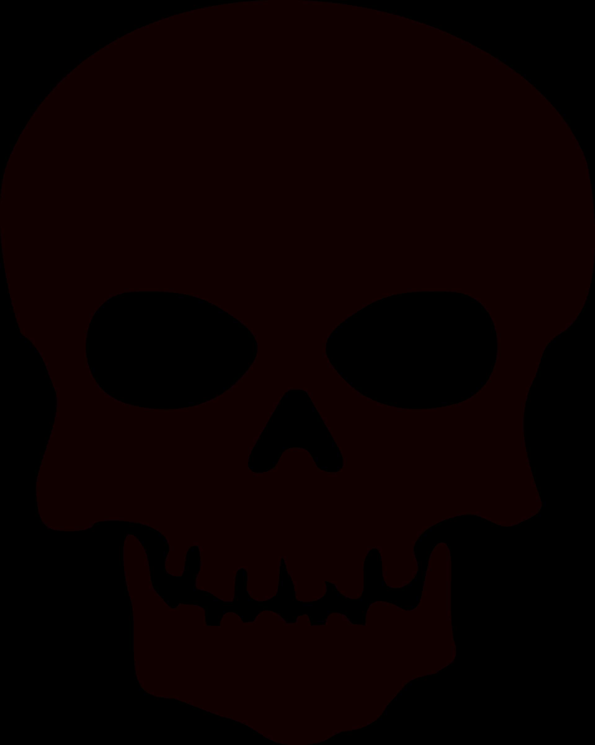 Череп лого PNG фото