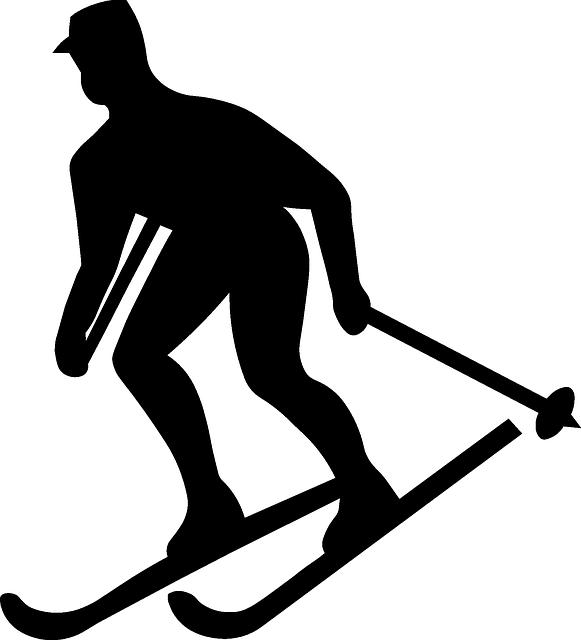 Лыжник PNG