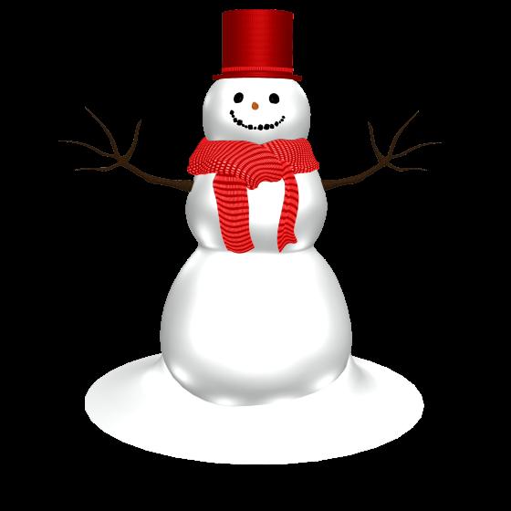 Снеговик PNG фото