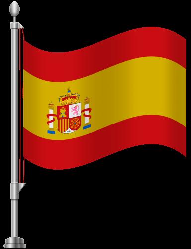 Испанский флаг PNG
