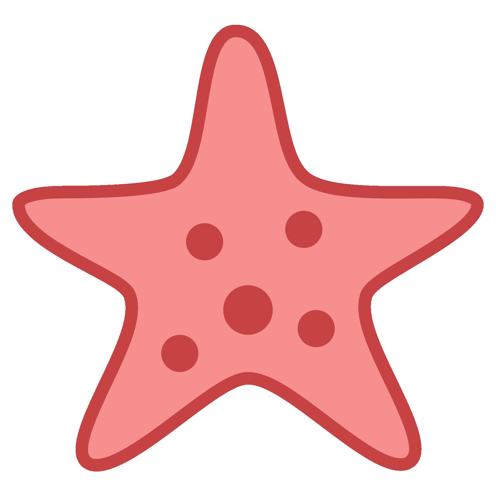 Морская звезда PNG
