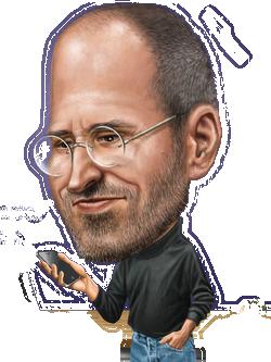 Стив Джобс PNG
