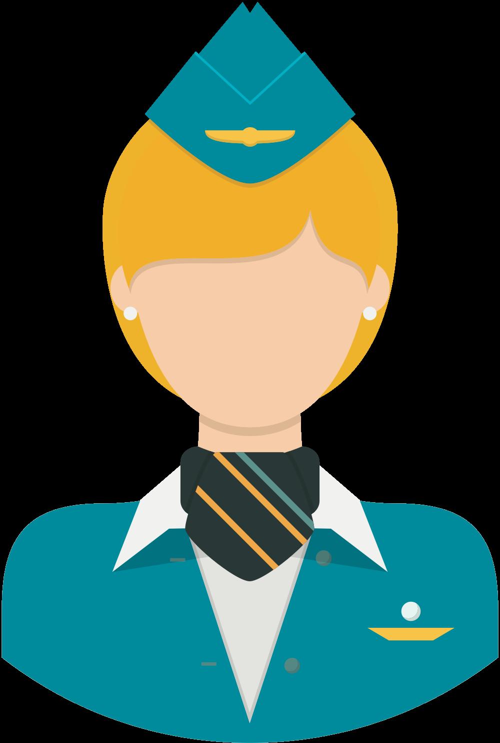 Стюардесса PNG
