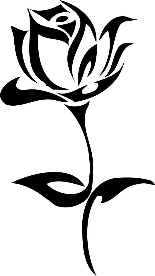 Татуировка роза PNG фото