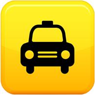 Такси логотип PNG