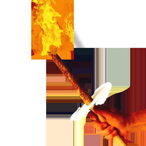 Факел PNG