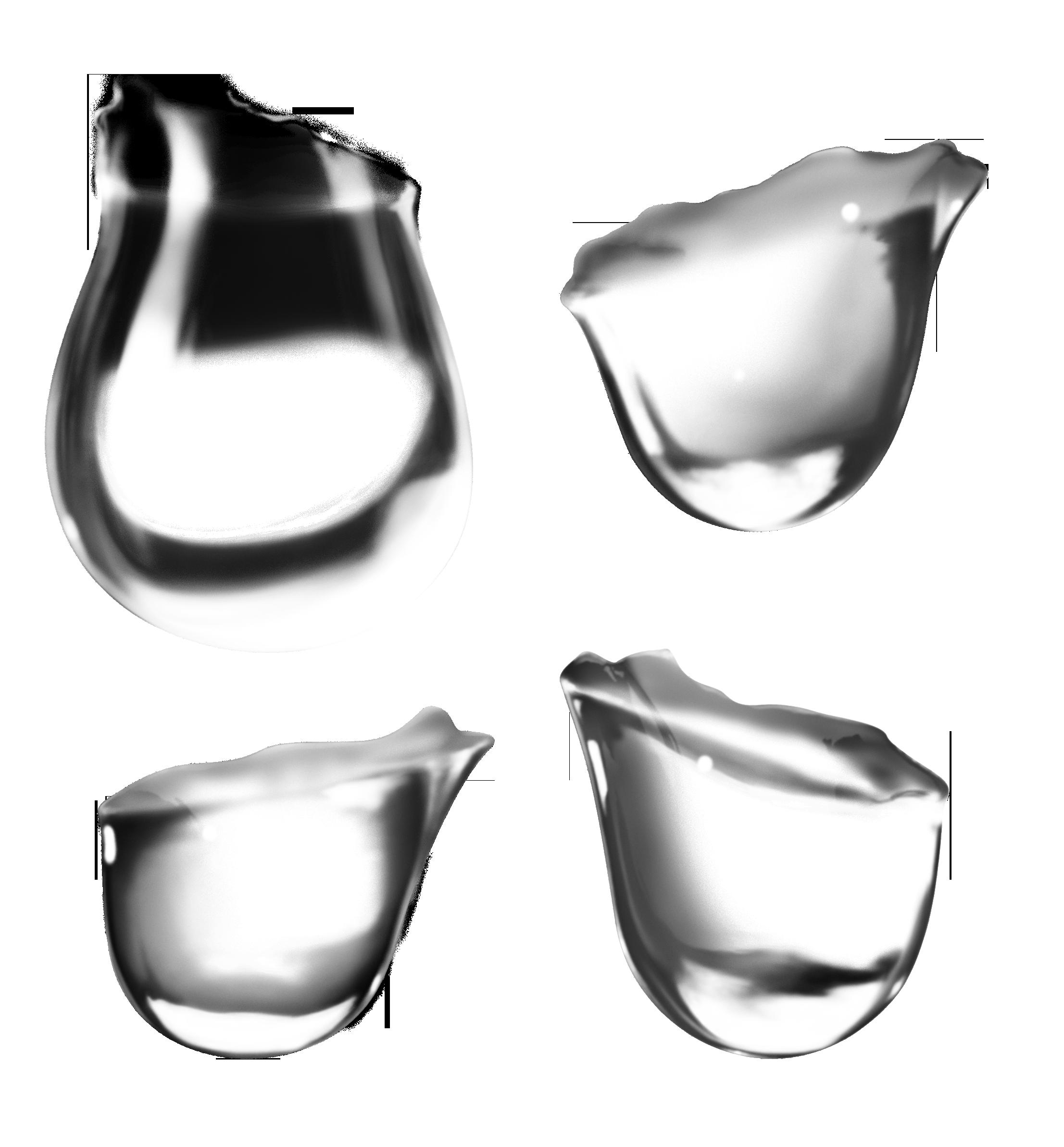 капли воды PNG фото