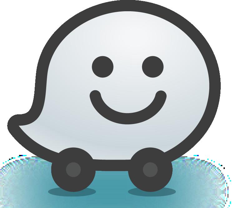 Waze PNG логотип