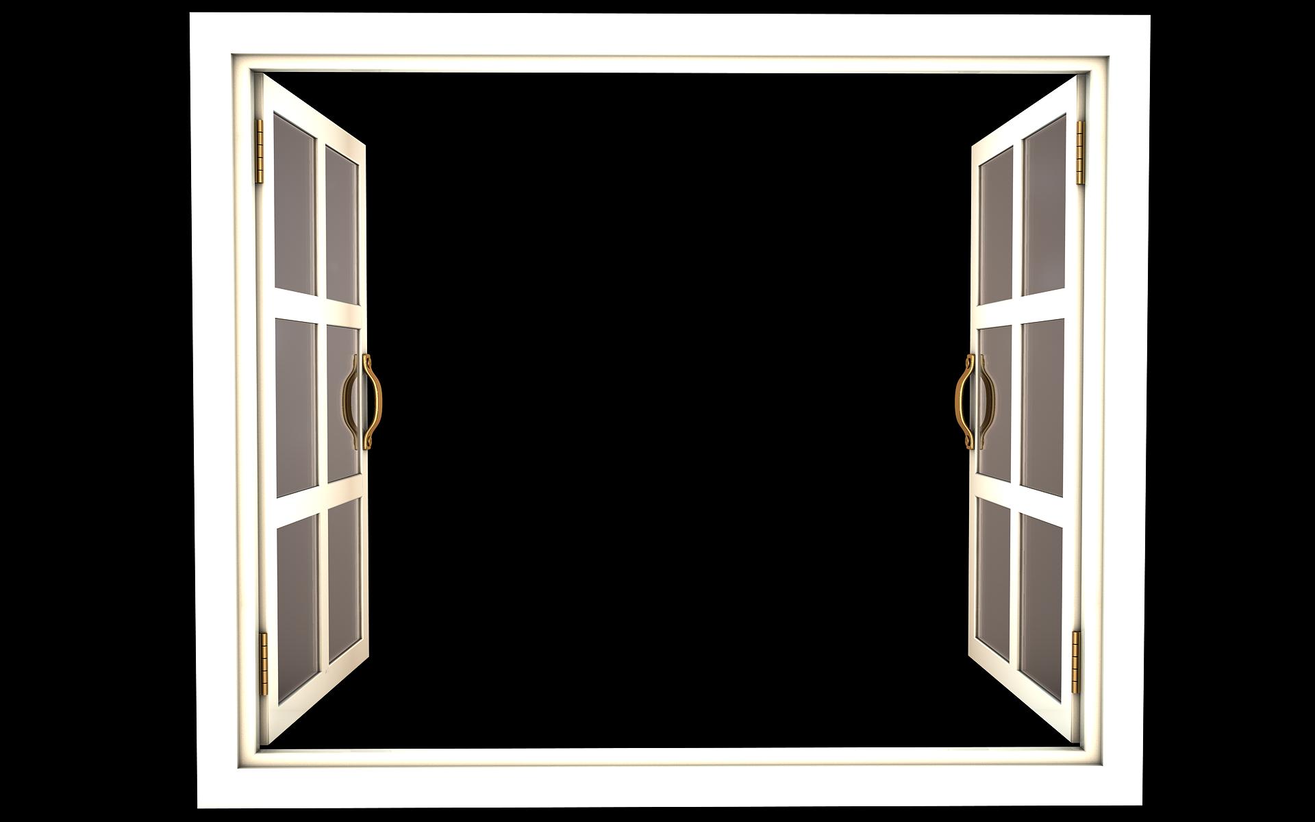 Открытое окно PNG