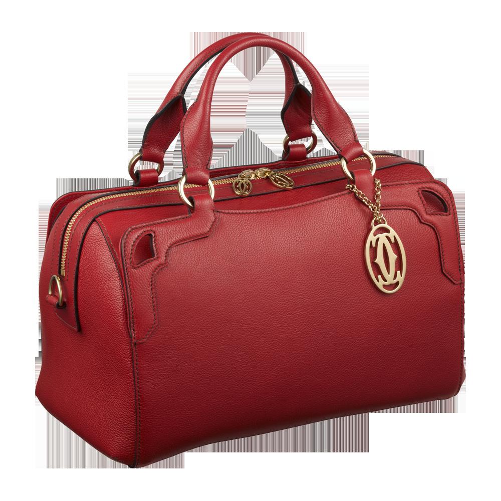 Красная женская сумка PNG фото