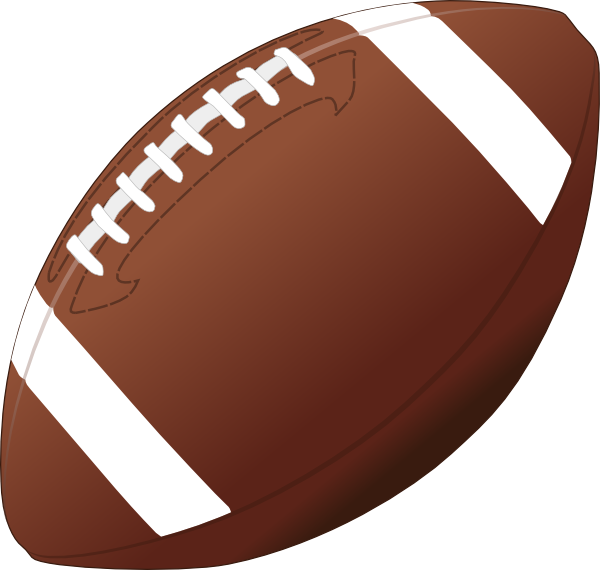 American football ball PNG