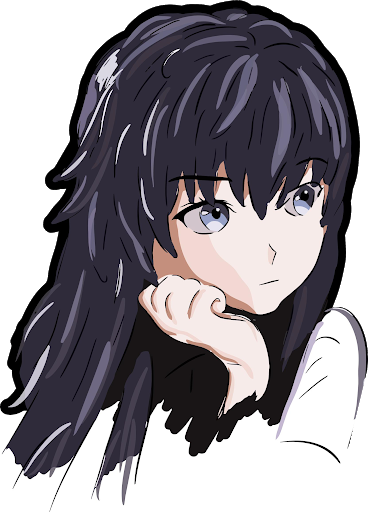 Anime girl PNG