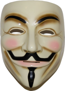 Anonymous mask PNG image free Download