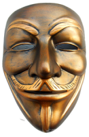 Anonymous mask PNG