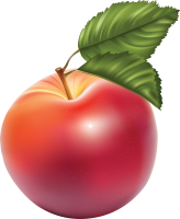 red apple PNG