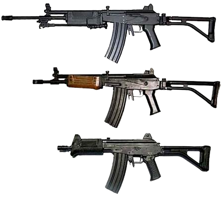 Israel Galil Assault rifle PNG