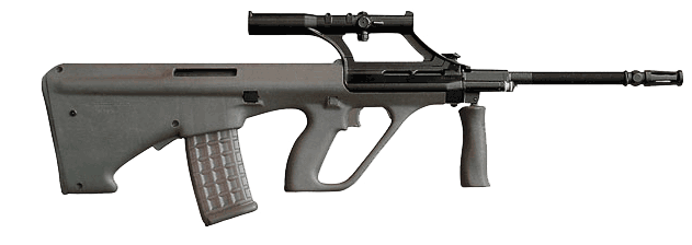 Stayer Assault rifle PNG