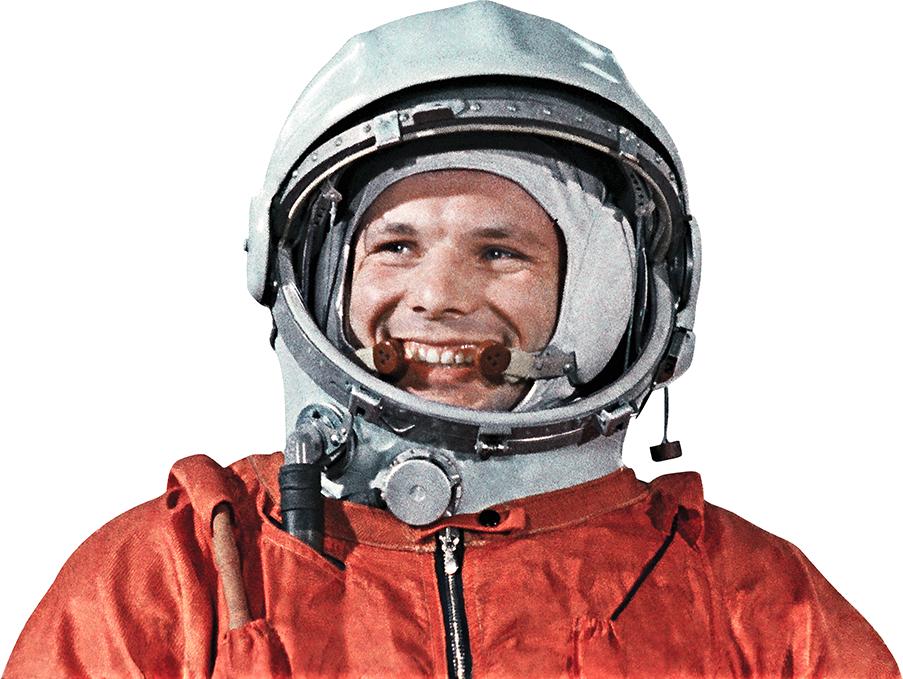 cosmonaut Gagarin PNG