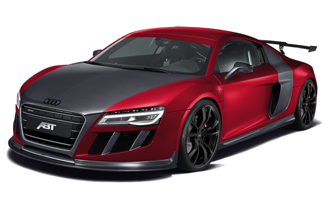 red audi R8 PNG image