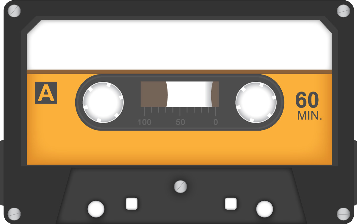 Audio cassette PNG