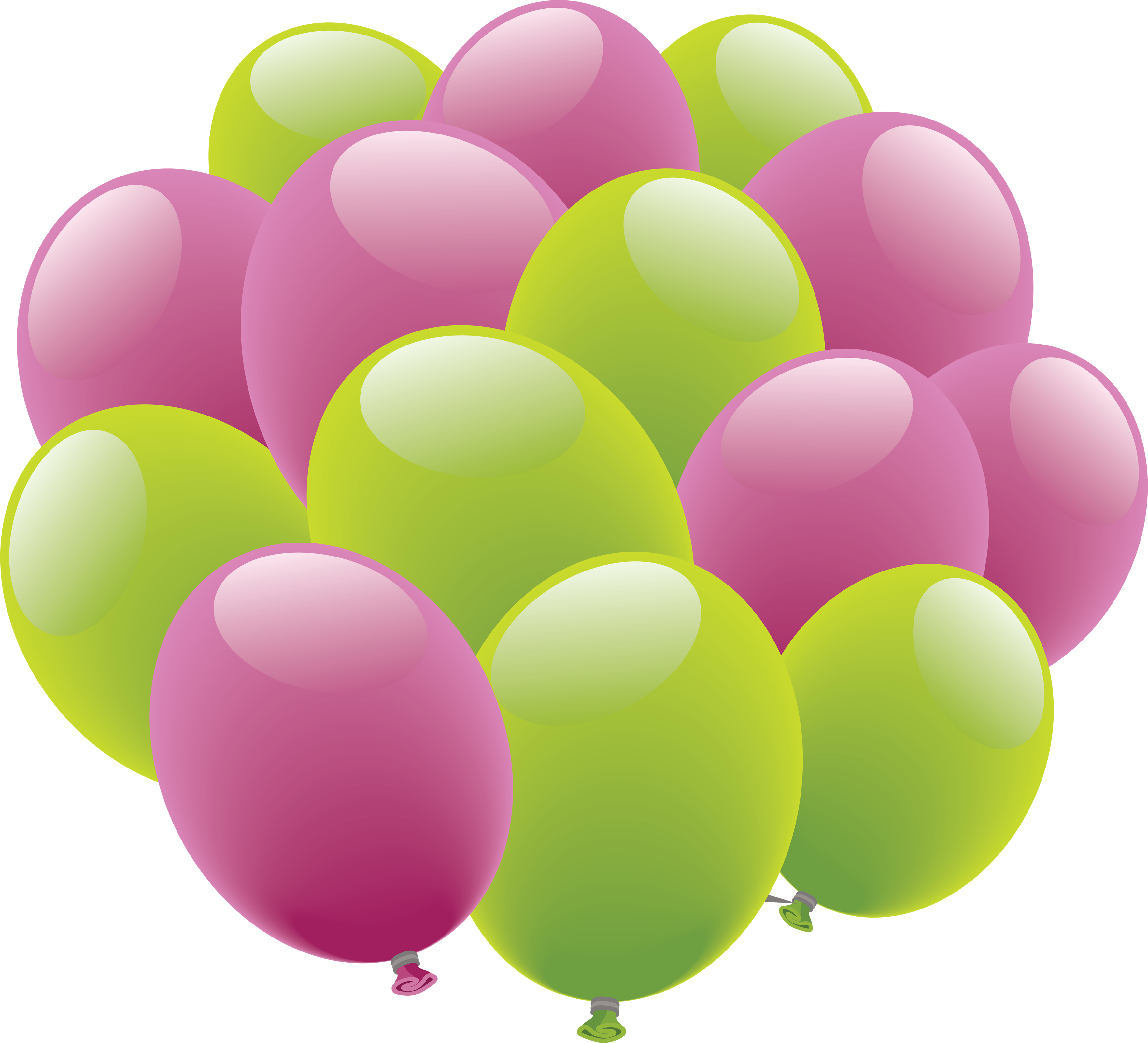 Balloons PNG image