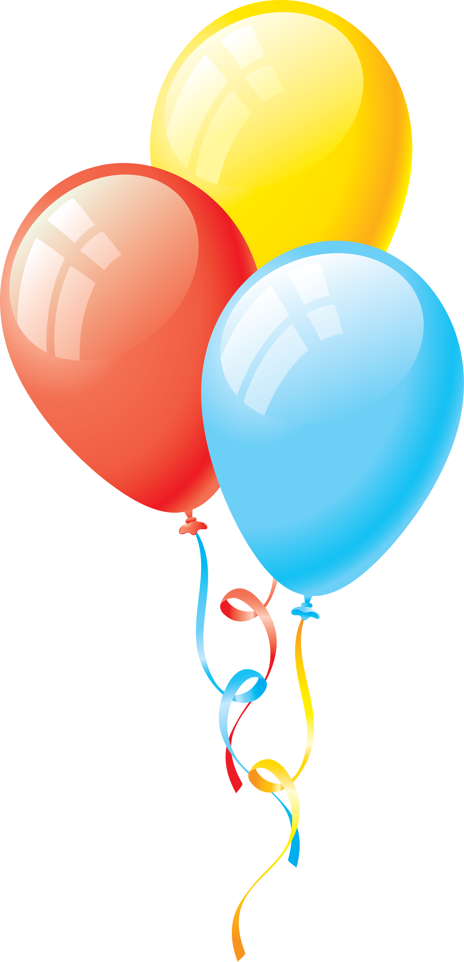 Colorful balloon PNG image, free download, balloons
