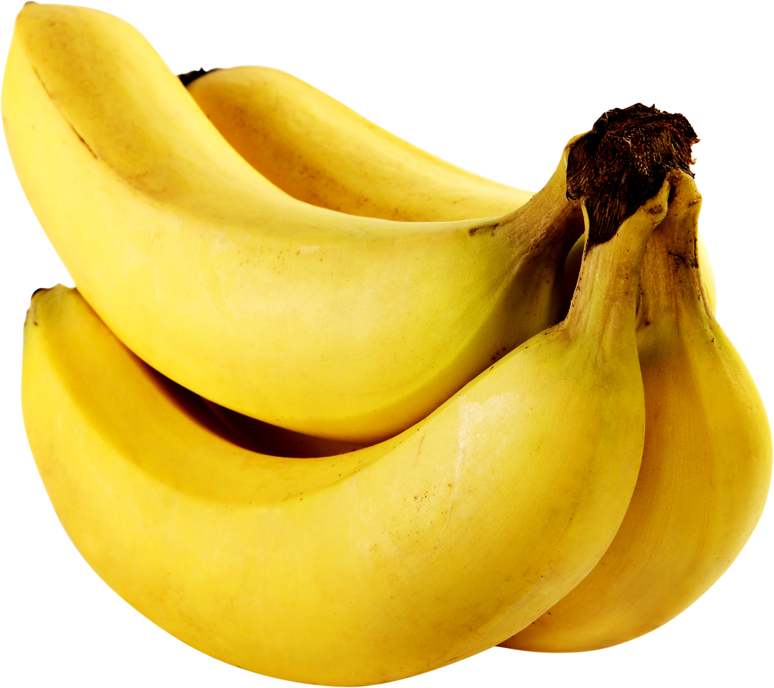 At about 3 grams per medium banana, we rank bananas as a good source of fiber. Approximately one-third of the fiber in bananas is water-soluble fiber. For one medium-sized banana, this amount translates into 1 gram of soluble fiber per banana.