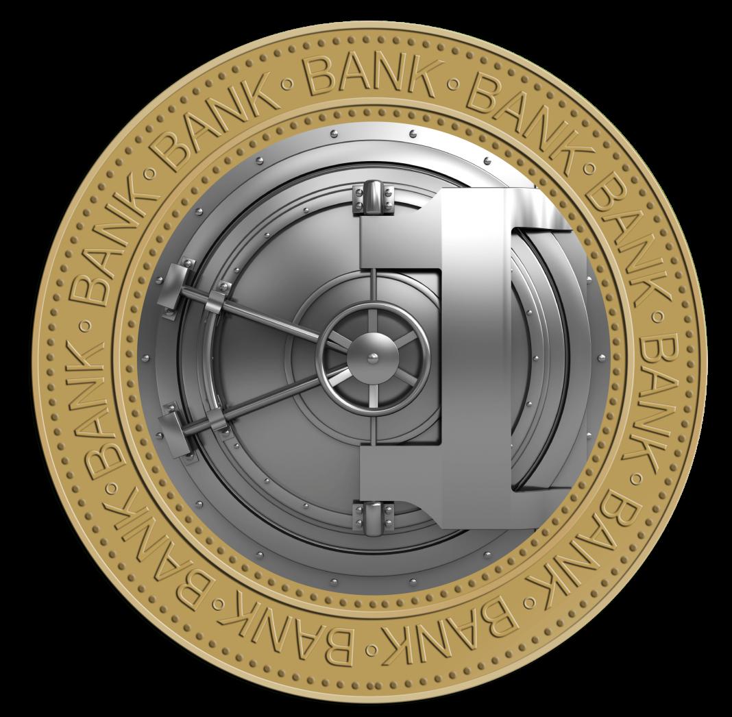 Bank vault PNG