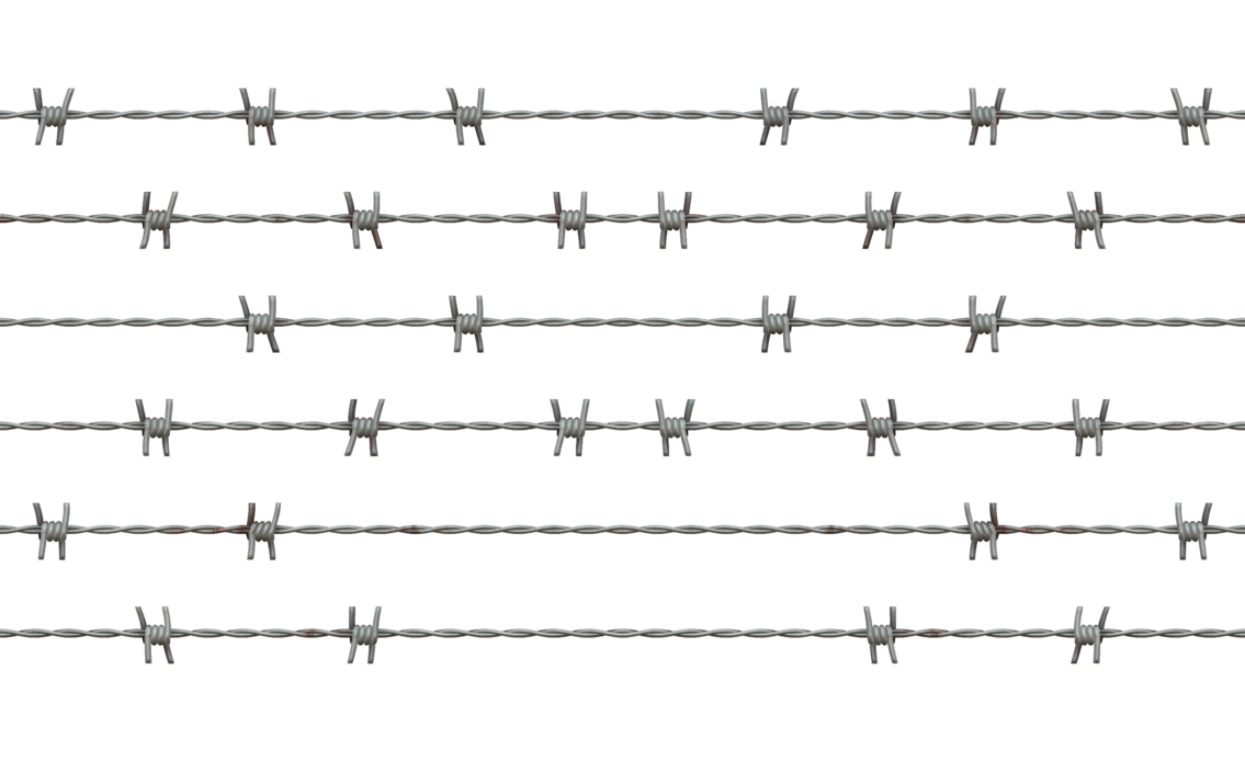 Barbed wire PNG