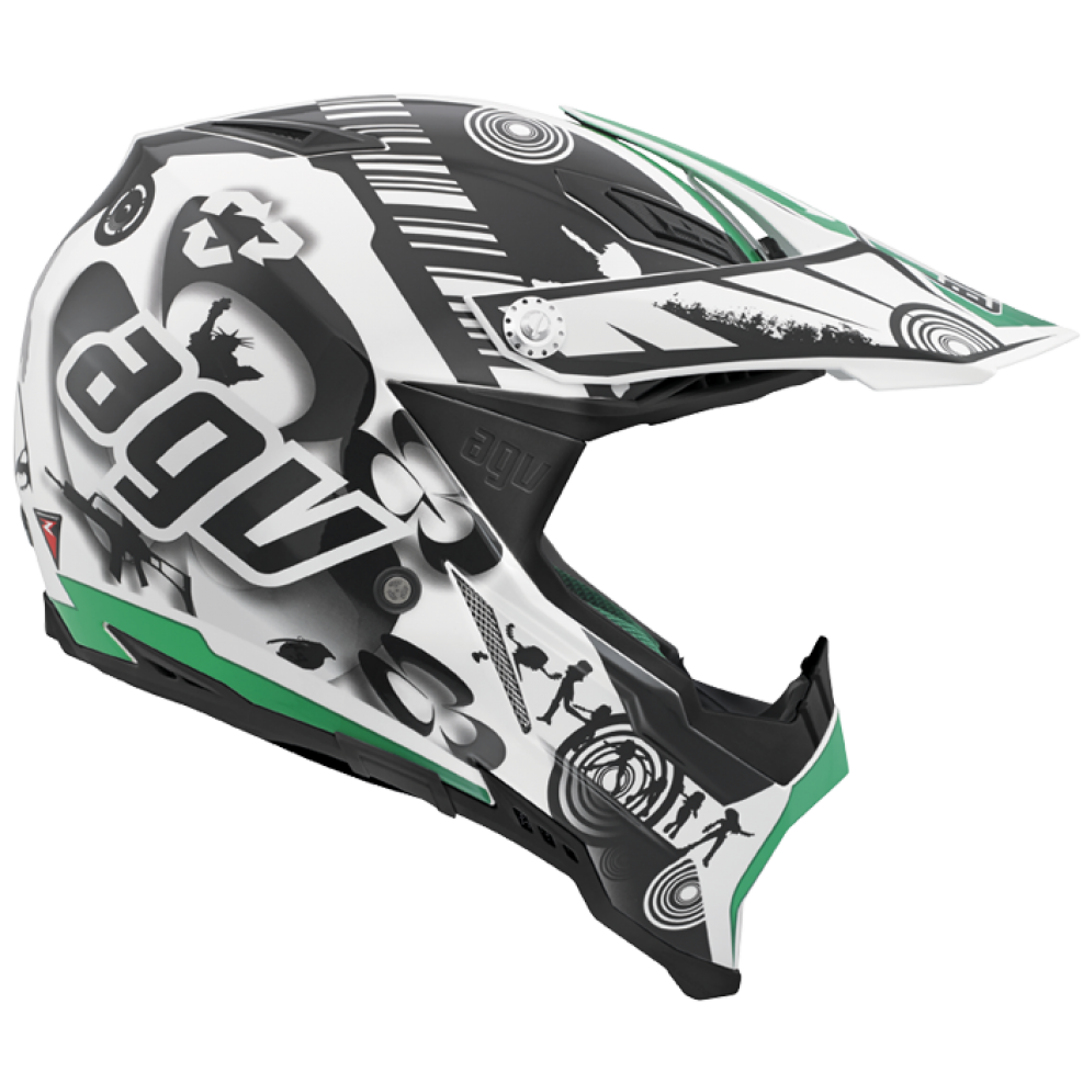 Full face bicycle helmet PNG image