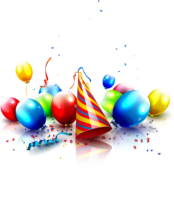 Party birthday hat PNG