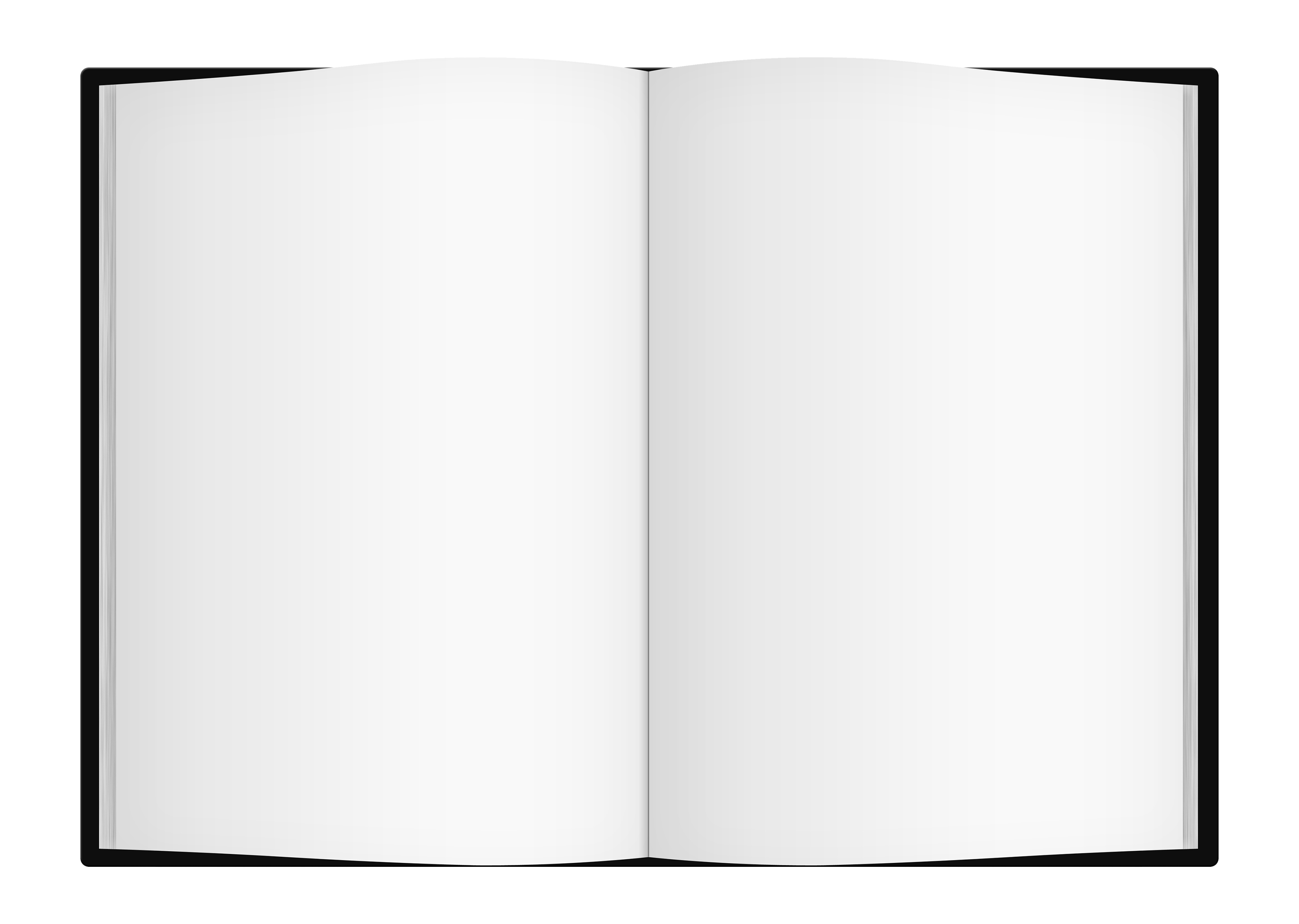 Book Cover Design Template Png : Open book png image