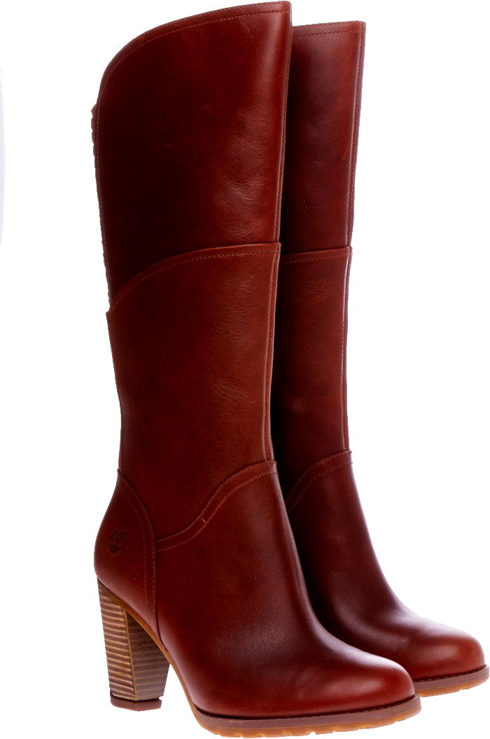 Brown women boots PNG image