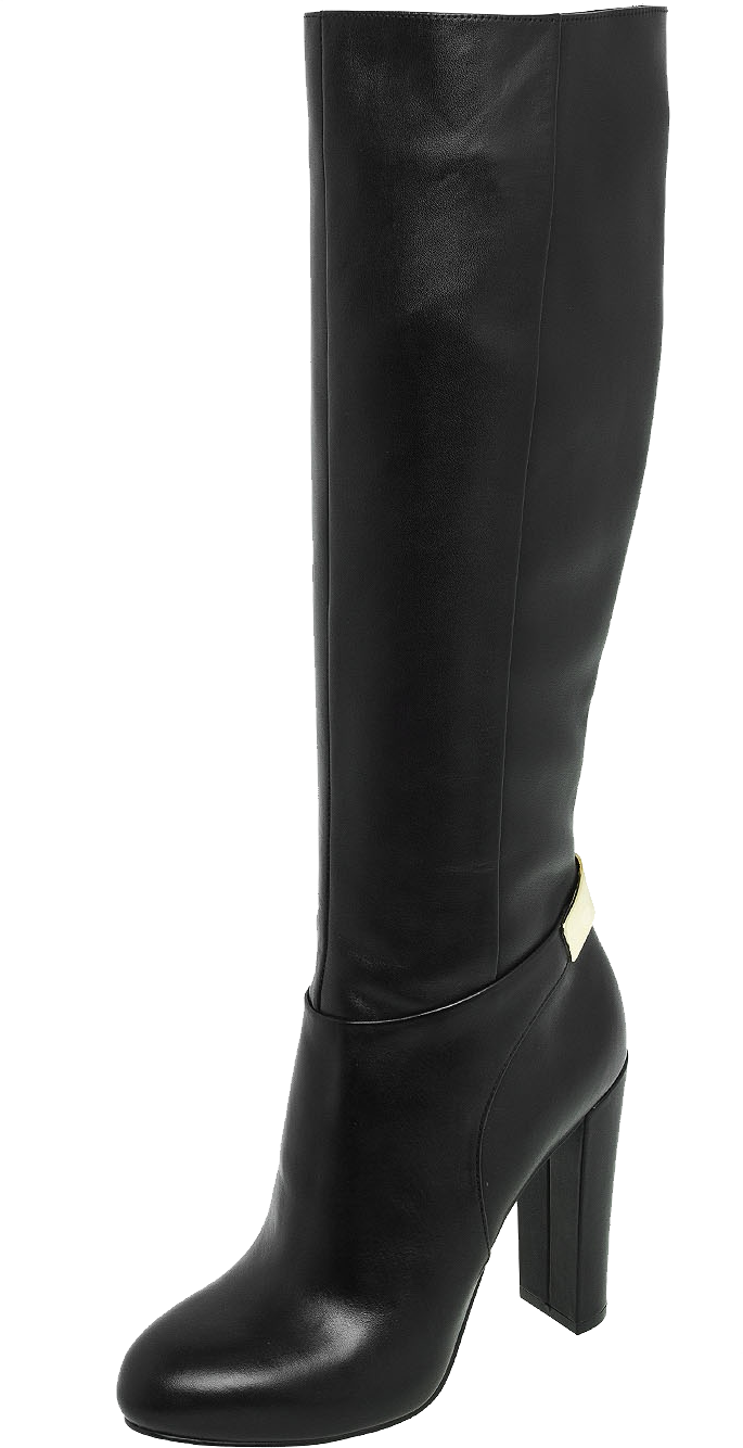Black women boots PNG image