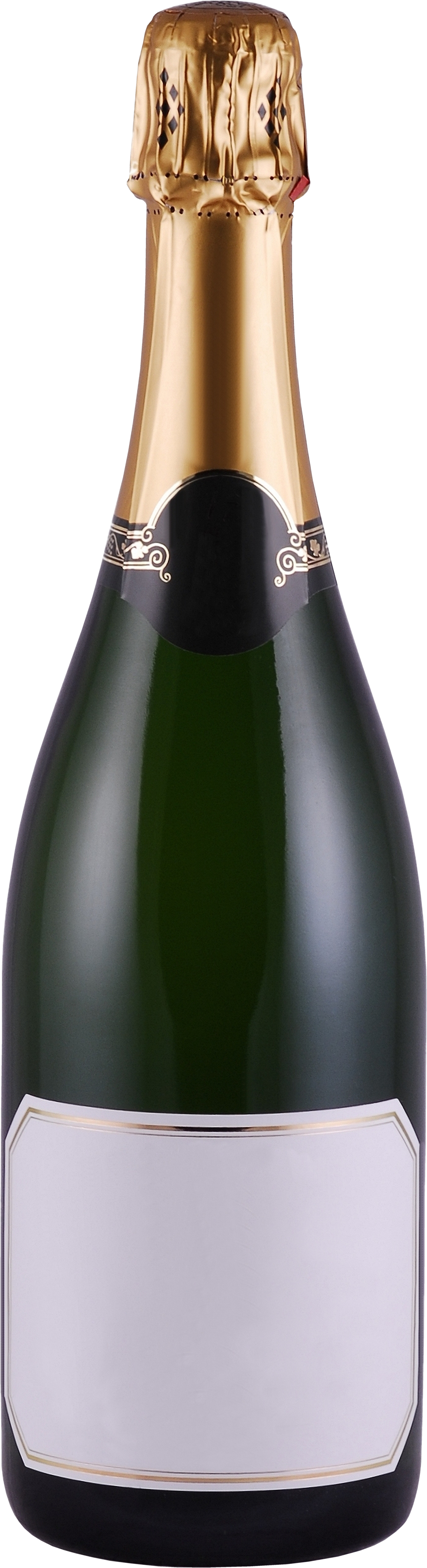 Champagne PNG bottle