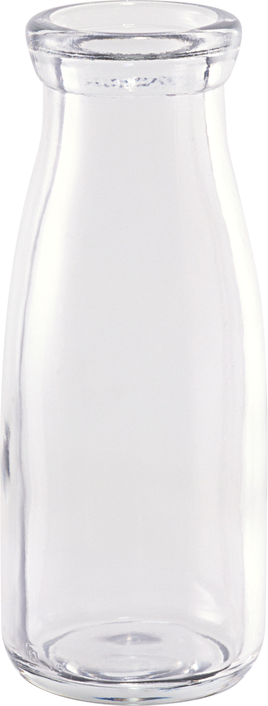 empty glass bottle PNG image