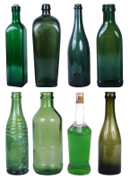 glass bottles PNG