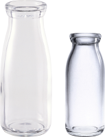 empty glass bottles PNG image