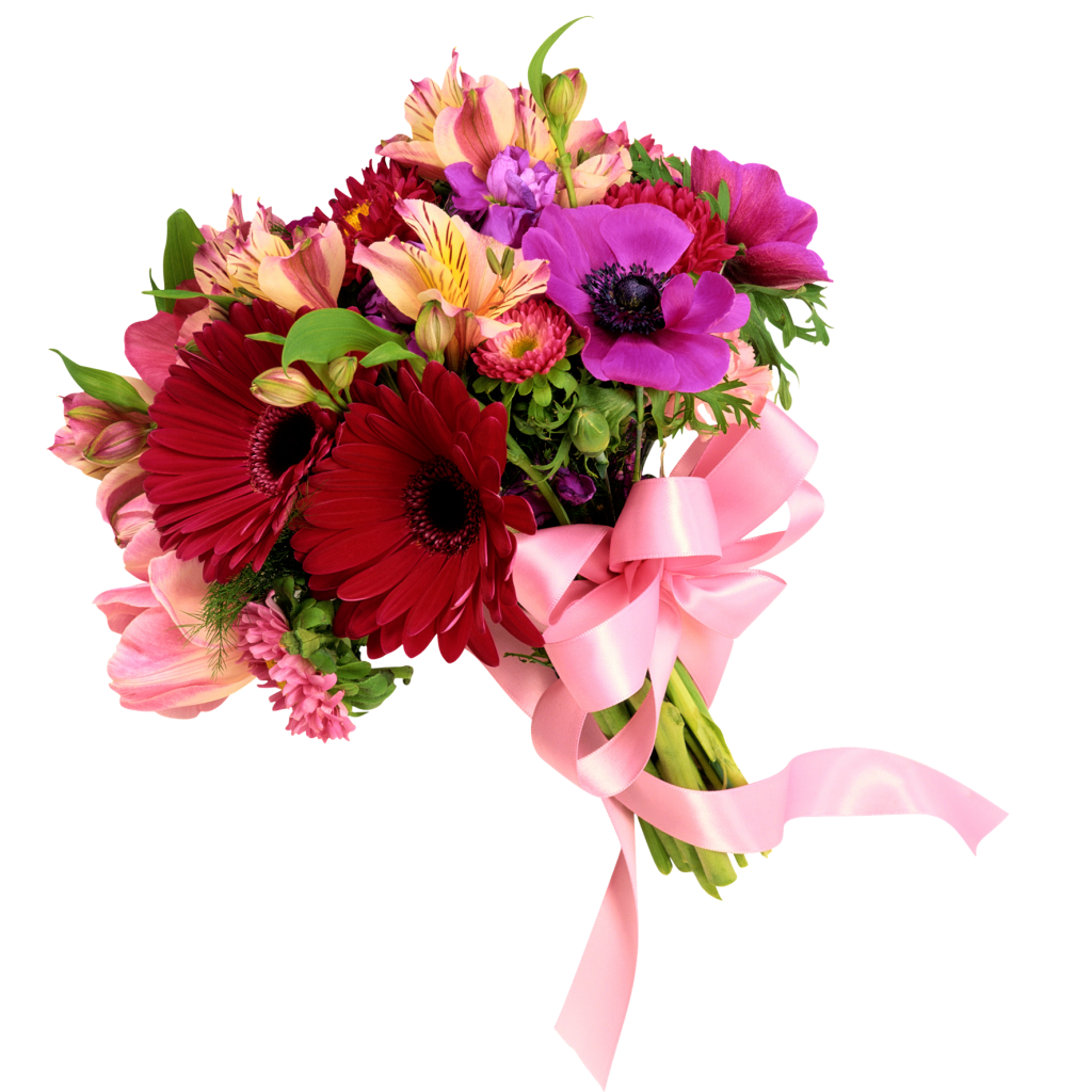 Bouquet flowers PNG